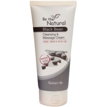 Natuer Be Be The Natural очищуючий масажний крем для обличчя