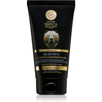 Natura Siberica For Men Only gel de curatare racoritor