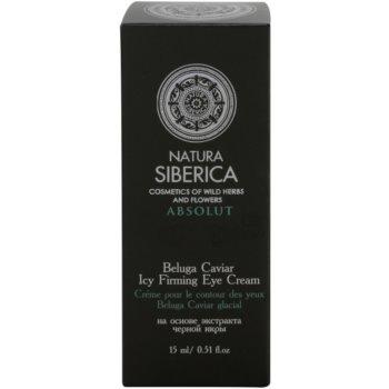 Natura Siberica Royal Caviar crema de ochi pentru fermitate cu caviar 3