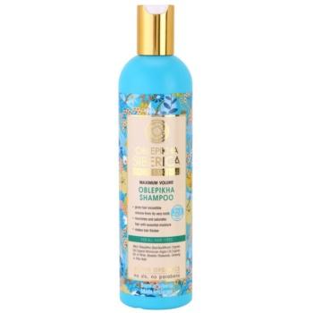 Natura Siberica Rakytník šampon pro maximální objem vlasů 400 ml