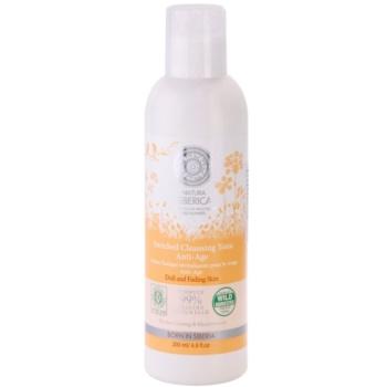 Natura Siberica Wild Herbs and Flowers tonic pentru curățarea și ingrijirea tenului impotriva imbatranirii pielii