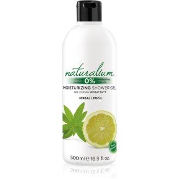 Naturalium Fruit Pleasure Herbal Lemon gel de dus hidratant poza