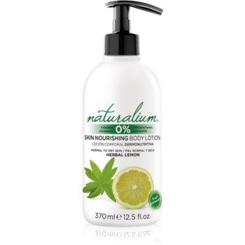 Naturalium Fruit Pleasure Herbal Lemon lotiune de corp hranitoare poza