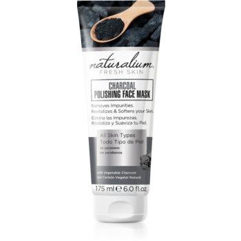 Naturalium Fresh Skin Charcoal masca faciala pentru curatare si stralucire poza