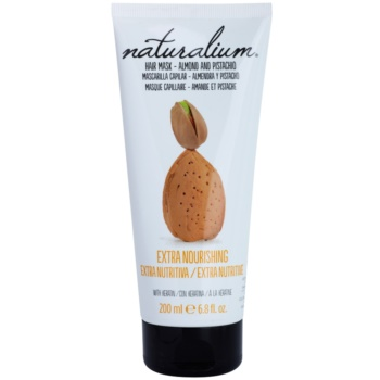 Naturalium Nuts Almond and Pistachio masca hranitoare cu keratina