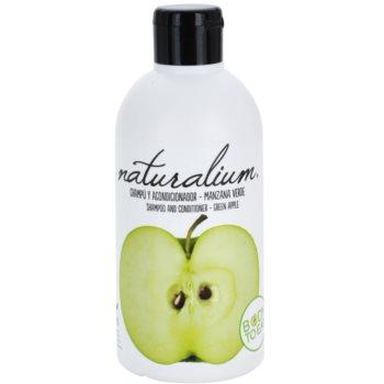 Naturalium Fruit Pleasure Green Apple sampon si balsam