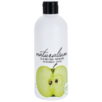 Naturalium Fruit Pleasure Green Apple gel de dus hranitor
