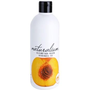 Naturalium Fruit Pleasure Peach gel de dus hranitor poza