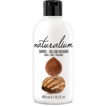 Naturalium Nuts Shea and Macadamia sampon pentru regenerare pentru pãr uscat ?i deteriorat poza