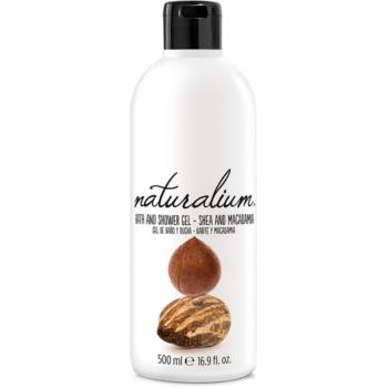 Naturalium Nuts Shea and Macadamia gel de dus regenerabil poza