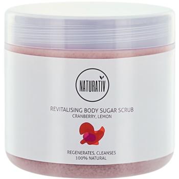 Fotografie Naturativ Body Care Revitalising cukrový peeling na tělo 500 ml