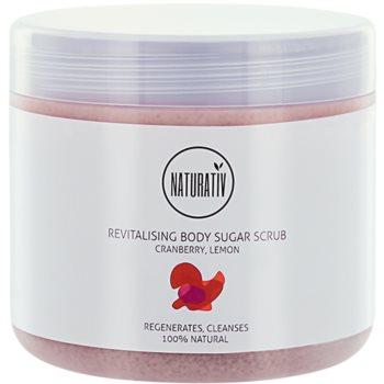 Naturativ Body Care Revitalising sladkorni piling za telo