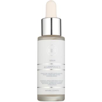 Naturativ Face Care ecoAmpoule 3 Serul de piele pentru a întări venele fine și pentru a reduce roșeața