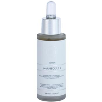 Naturativ Face Care ecoAmpoule 4 ser antibacterial pentru ten acneic