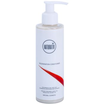 Fotografie Naturativ Hair Care Regeneration jemný kondicionér pro posílení vlasů 200 ml