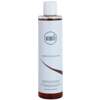 Naturativ Hair Care Dark champô natural para enfatização de cor de cabelo