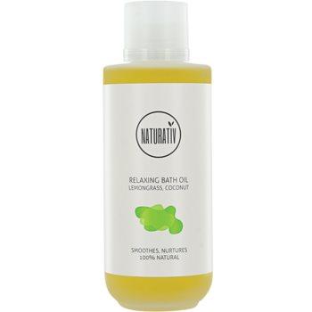 Naturativ Body Care Relaxing olej do kúpeľa pre hydratáciu a vypnutie pokožky