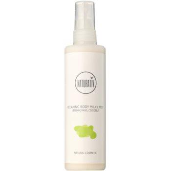 Naturativ Body Care Relaxing mléčná mlha pro hydrataci a vyhlazení pokožky 1