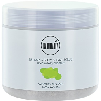 Naturativ Body Care Relaxing exfoliant din zahar pentru corp