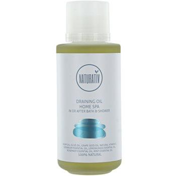 Naturativ Body Care Home Spa óleo de banho e duche anticelulite