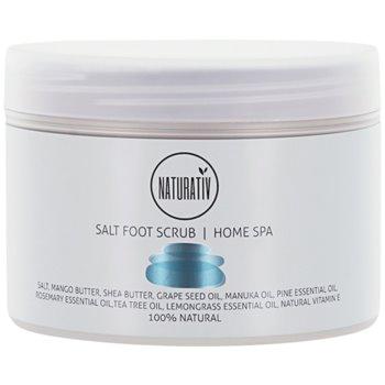 Naturativ Body Care Home Spa Salz-Peeling für Füssen