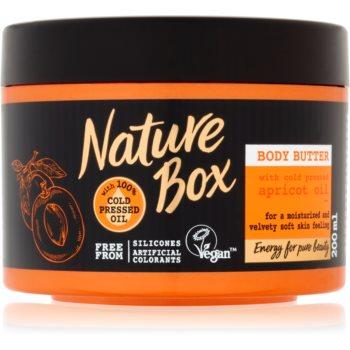 Nature Box Apricot unt de corp intens hidratant pentru piele neteda si delicata