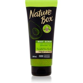Nature Box Avocado exfoliant pentru corp