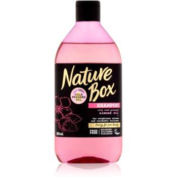 Nature Box Almond sampon pentru volum densitatea parului imagine produs