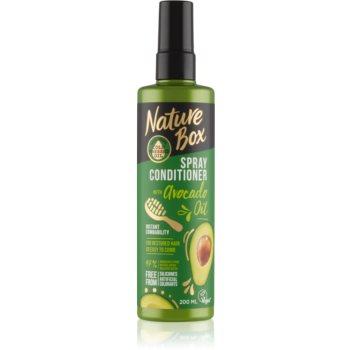 Nature Box Avocado Oil balsam regenerator pentru par deteriorat imagine produs