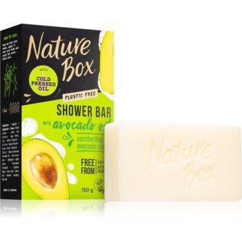 Nature Box Shower Bar Avocado Oil natürliche feste Seife 150 g