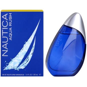 Nautica Aqua Rush Eau de Toilette pentru bărbați