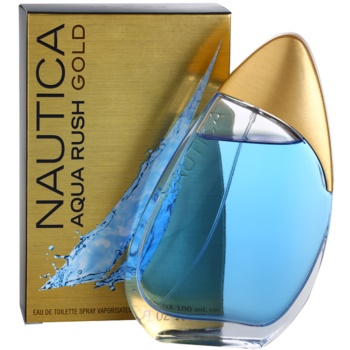 Nautica Aqua Rush Gold Eau de Toilette pentru barbati 1