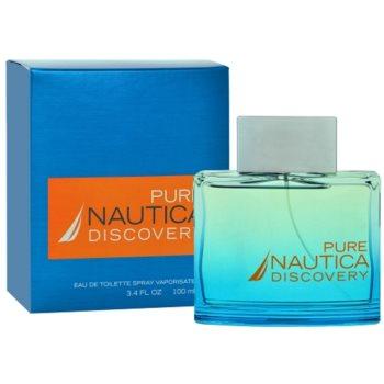 Nautica Pure Discovery eau de toilette férfiaknak