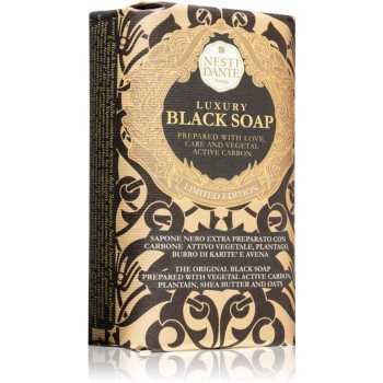 Nesti Dante Luxury Black Soap sãpun negru imagine produs