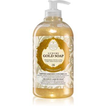 Nesti Dante Gold flüssige Seife für die Hände mit Pumpe 500 ml