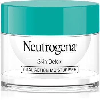 Neutrogena Skin Detox crema regenerativa de protectie 2 in 1