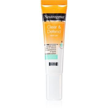 Neutrogena Clear & Defend gel topic pentru acnee imagine produs