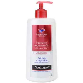 Neutrogena Norwegian Formula® Intense Repair intenzivní regenerační tělové mléko pro suchou pokožku 400 ml