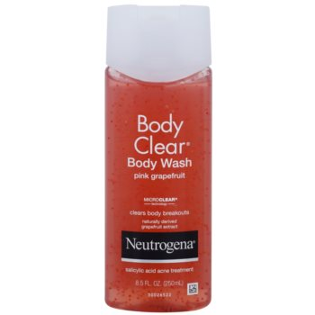 Neutrogena Body Clear tusfürdő gél peeling hatással