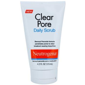 Neutrogena Clear Pore piling za obraz proti aknam