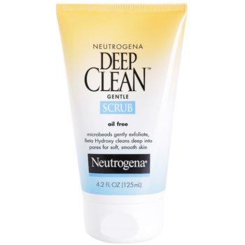 Neutrogena Deep Clean Peeling für das Gesicht