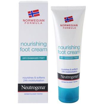 Neutrogena Foot Care подхранващ крем за крака 1