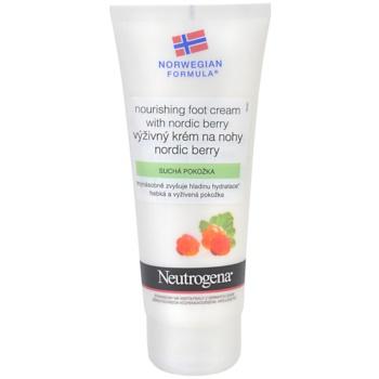 Neutrogena Norwegian Formula® Nordic Berry vyživující krém na nohy 100 ml