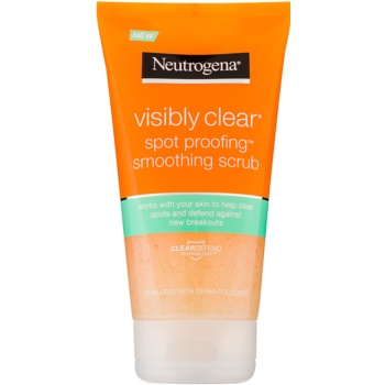Neutrogena Visibly Clear Spot Proofing exfoliant facial pentru netezirea pielii