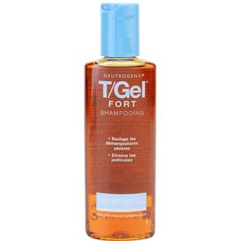 Neutrogena T/Gel Forte šampon proti lupům pro suchou a svědící pokožku hlavy 125 ml