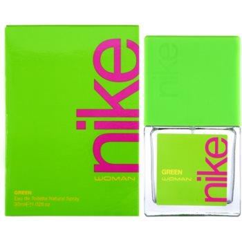 Imagine indisponibila pentru Nike Green Woman eau de toilette pentru femei 30 ml