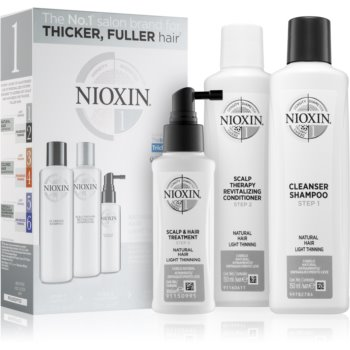 Nioxin System 1 Natural Hair Light Thinning set cadou imagine produs