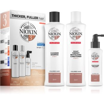 Nioxin System 3 Color Safe set cadou pentru pãr vopsit imagine produs