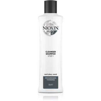 Nioxin System 2 Cleanser Shampoo sampon pentru curatare pentru par fin si normal poza noua