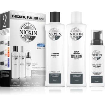 Nioxin System 2 Natural Hair Progressed Thinning set cadou